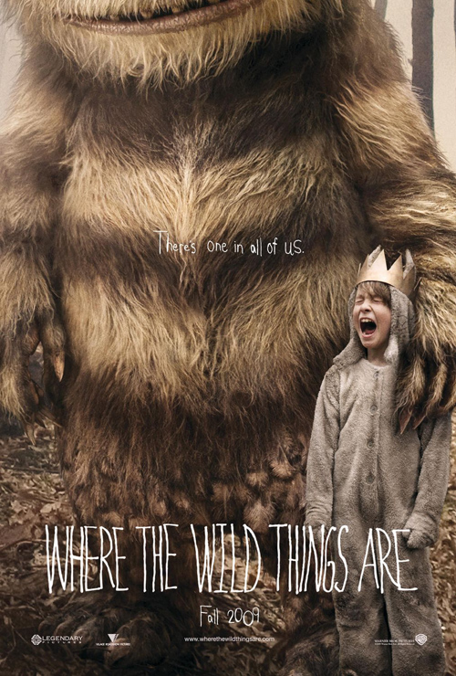 where the wild things are, spike jonze, 2009