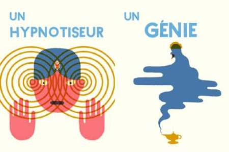 Limagier des gens Blexbolex un hypnotiseur un genie