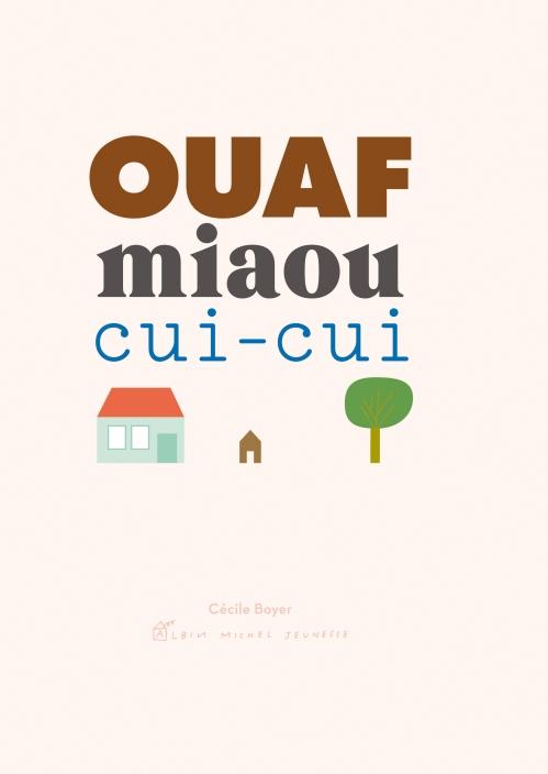ouaf miaou cuicui