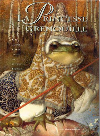 Livres pour enfants, parce que ça intéresse les grands aussi^^ La_princesse_grenouille