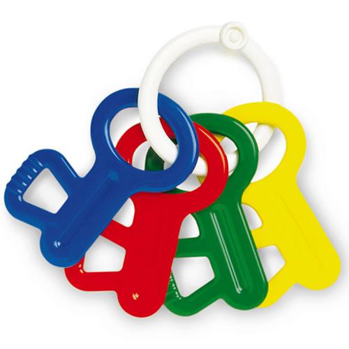clés en plastiques-sardine